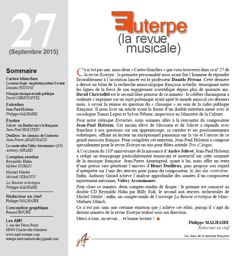 Euterpe 27