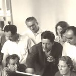 During the summer academy of music organised by Jolivet in Aix-en-Provence, teachers and students had meetings to study new scores. Here Henri Dutilleux gives explanations of his music.