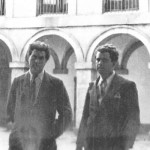 In the summer of 1933, on his way back to the United States, Varèse went to Spain where he contacted people to organise a IVth International Arts Conference. Jolivet joined him and here they visit the Escorial.